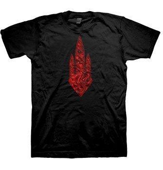 Al Gate-Give-Maglietta da uomo nero Small