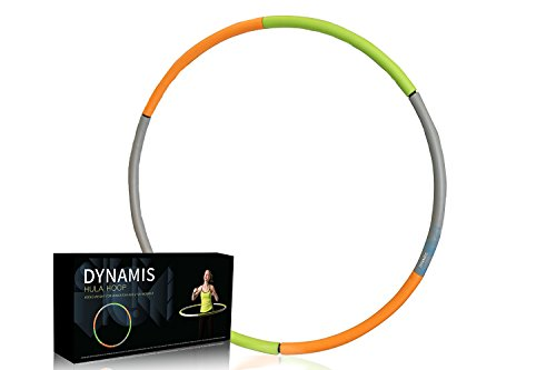 Weighted Hula Hoop - Heavy Fitness Hoop - 3lbs - Weight Loss Workout Equipment - Customizable, Easy to Use Exercise Hoop - Fun, Easy Way to Workout - Dance, Twist, Stretch, & Sweat