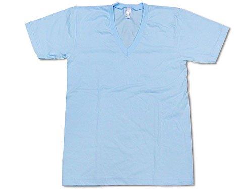 (アメリカンアパレル) American Apparel 2456 半袖Tシャツ Vネック
