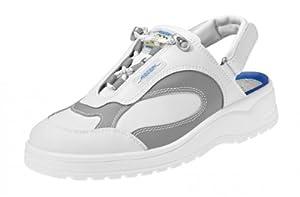 Abeba , Chaussures de sécurité pour homme Blanc Blanc/Gris Blanc Blanc/Gris 41