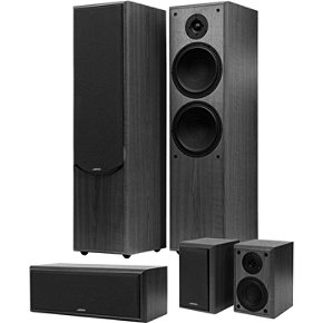 Jamo S 406 HCS 1 Black 5 0-channel black home-theater