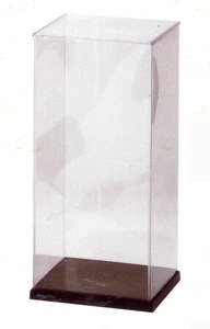 Japanese Plastic Doll Display Case 8.25x14in #dc1-s