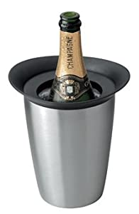 Vacuvin Prestige Champagne Cooler Stainless Steel by Vacuvin