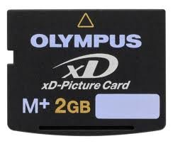 Olympus FE-20 Digital Camera Memory Card 2GB xD-Picture Card (M+ Type)