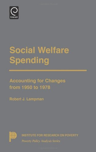 Social Welfare Spending: Accounting for Changes from 1950 to 1978 (Poverty Policy Analysis) (Institute for Research on P