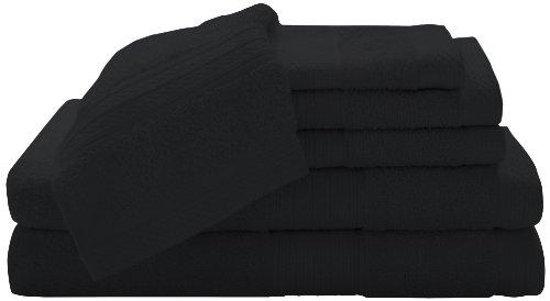 Baltic Linen Company 100-Percent Cotton Luxury 6-Piece Towel Set, Ebpny front-104009