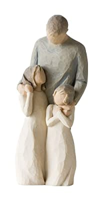 Willow Tree - My Girls, Father Figurine, Susan Lordi 26232 by DEMDACO - Home