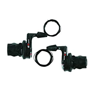 SRAM X0 Bicycle Twist Shifter Set (9-Speed)