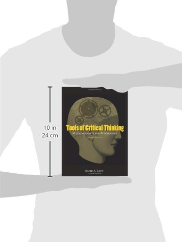 tools of critical thinking david levy Tools of critical thinking by david a levy, 9781577666295, available at book depository with free delivery worldwide.