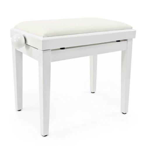 pianos et claviers accessoires tabouret de piano r glable par gear4music blanc. Black Bedroom Furniture Sets. Home Design Ideas