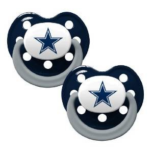 Baby Fanatic Pacifier, Dallas Cowboys - 1