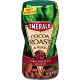 Emerald Cocoa Roasted Almonds - Dark Chocolate, 8.5 Oz - Pack of 3