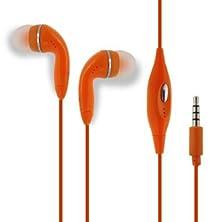 buy Orange Color 3.5Mm Audio Earphone Headphones Headset Earbuds With Microphone Hands Free For Hp Elitepad 1000