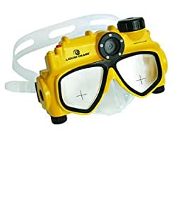 Liquid Image Explorer Series 8.0MP Underwater Digital Camera Mask with Video, Scuba Dive Diving Camera, Snorkel Camera, Surfing Camera, Dive Camera, Waterproof Camera