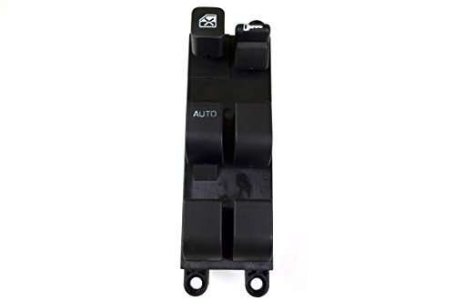 PT Auto Warehouse PWS-4869W - Master Power Window Switch - Driver Side Front (2002 Altima Power Window Switch compare prices)