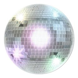 Disco Ball Cutout Party Accessory (1 count)