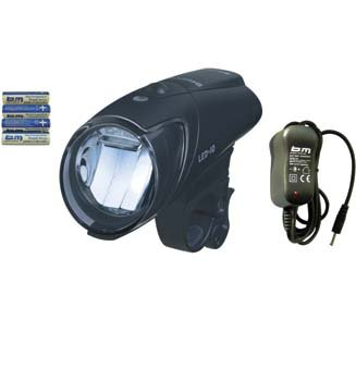 B & M battery-LED-light IXON IQ with charger