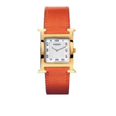 Hermes Heure H Ladies Quartz Watch - 036786ww00