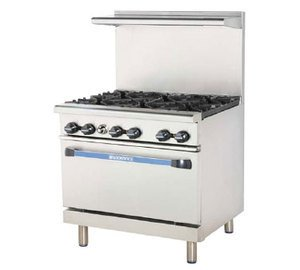 24 Inch Stainless Gas Range front-600140