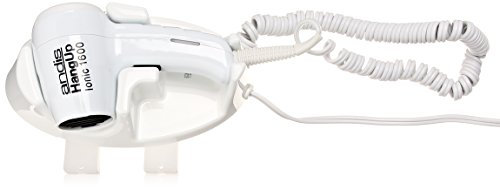 Andis 30760 Wall Mounted Hang Up 1600 Watt Hair Dryer with Night Light (Wall Mount Ionic Hair Dryer compare prices)