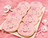 Cute Baby Girl Face Cookies