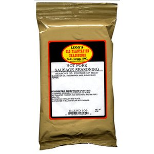 A.C. Legg INC Hot Pork Sausage Seasoning (Ac Leggs Sausage Seasoning compare prices)