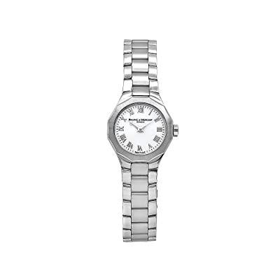 Baume & Mercier Women's 8761 Riviera XS Stainless-Steel White Dial Watch