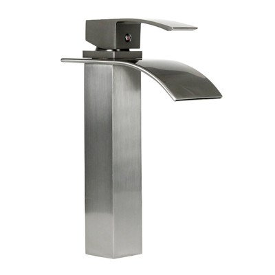 Dyconn Faucet VS1H36-BN   Wye Brushed Nickel Modern Bathroom/Vessel/Bar Faucet