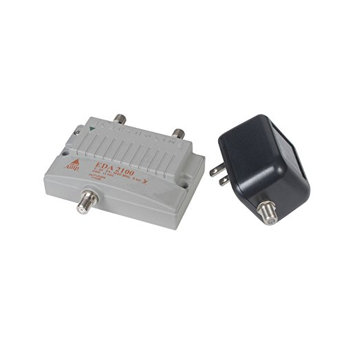 Cable Modem Signal Booster : Electroline eda bi directional signal booster port