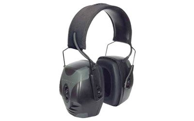 Howard Leight Impact Pro Earmuff Black Electric NRR 30 AUX C