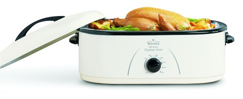 Rival RO180 18-Quart Roaster Oven, White (Holiday Oven Parts compare prices)