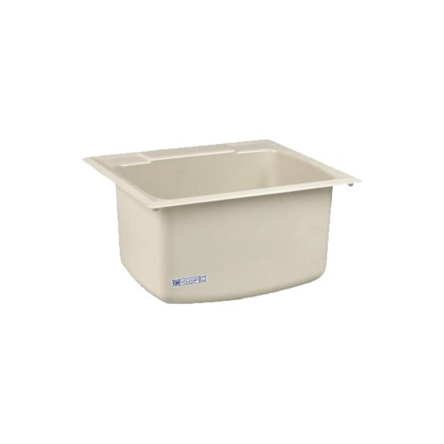 Extra Large Utility Sink : Details about Mustee 10CBT Utility Sink, 22-Inch x 25-Inch, Biscuit ...