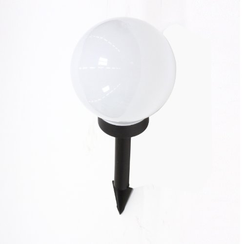 pacte pour boule lumineuse lampe d 39 ext rieur luminaire jardin globe clairant 50cm. Black Bedroom Furniture Sets. Home Design Ideas