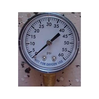 Set A Shopping Price Drop Alert For Super Pro Pool Filter 0-60 Pressure Gauge 1/4