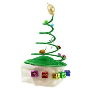 #!Cheap Christmas Tree Coil Spring Hat