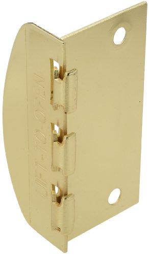 National Hardware V808 Flip Lock In Brass front-791265