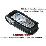 Echt Ledertasche Handy Tasche Nokia 6300