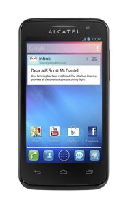 Alcatel One Touch M Pop 5020D noir