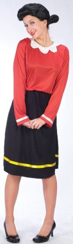 Olive Oyl Adult Costume (Small-Medium)
