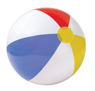 Intex Beach Ball 20 In. Dia 8 Ga Vinyl - 1