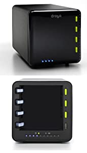 Drobo Fully Automated SATA Robotic Storage Array 4 Bay USB 2.0