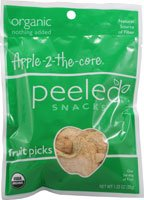 Peeled Snacks - Apple-2-the-core Organic Fruit Picks - 1.23 oz.