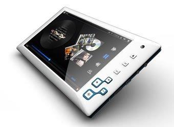 Android+Dropadシリーズ+MID070S5ホワイト 「AndroidOS:2.2 CPU:samsung+PV210(cortex+A8) メモリー:512MB 内臓RAM:4GB 液晶:7インチ静電式タッチパネル+Bluetooth2.0搭載!タブレットPC」