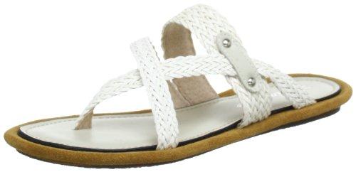 Timezone Kim BR Flip-Flops Womens White Weià (white S101) Size: 5 (38 EU)