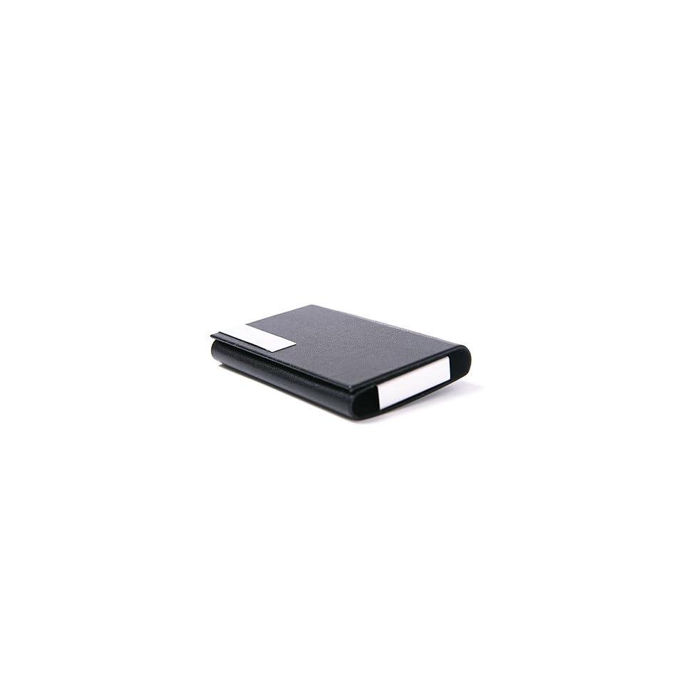 HDE (TM) Black Business Card Case