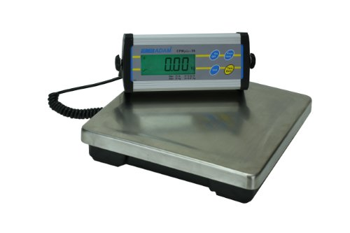 Adam Equipment Cpwplus Bench Scale, 75Lb/35Kg Capacity, 0.02Lb/10G Readability front-776341
