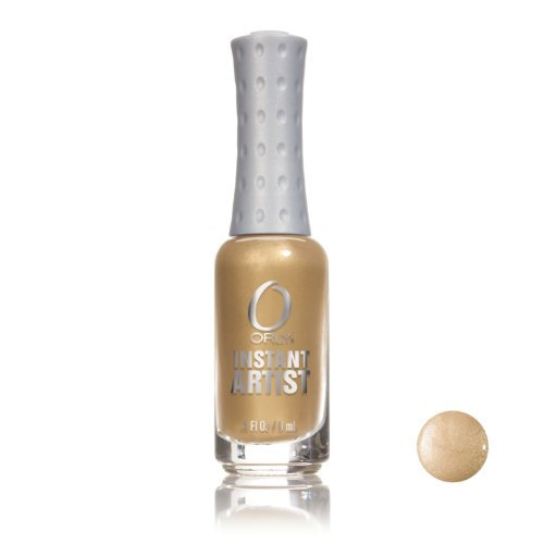 Orly Instant Artist Nail Art Striper - Solid Gold #47011 9ml