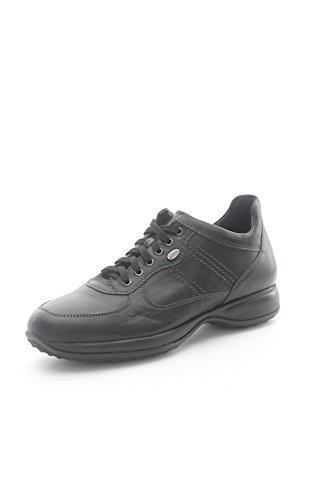Lion 11140 Sneakers Uomo Pelle Nero Nero 41