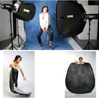 Lastolite LL LB67NO 6 x 7 Feet Collapsible Reversible Background with Train (New York/Ohio)