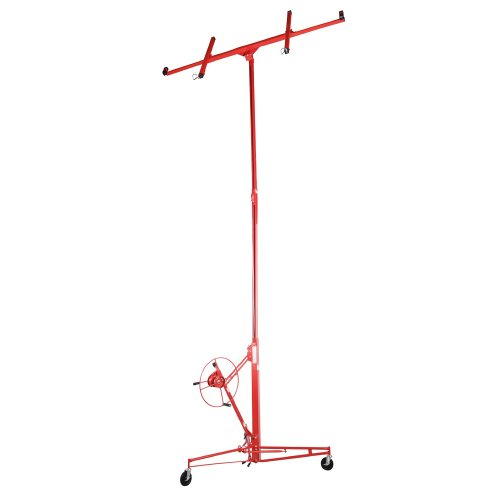Pentagon Tools Pro Series Heavy Duty Drywall Lift and Panel Hoist 15 Foot Professional Quality!
